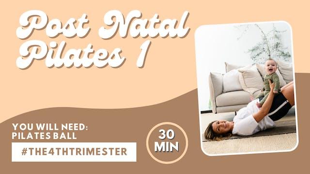 Post Natal Pilates One
