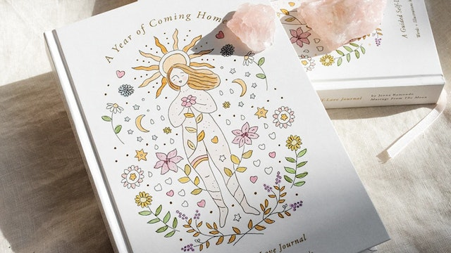 Guided Self Love Journal