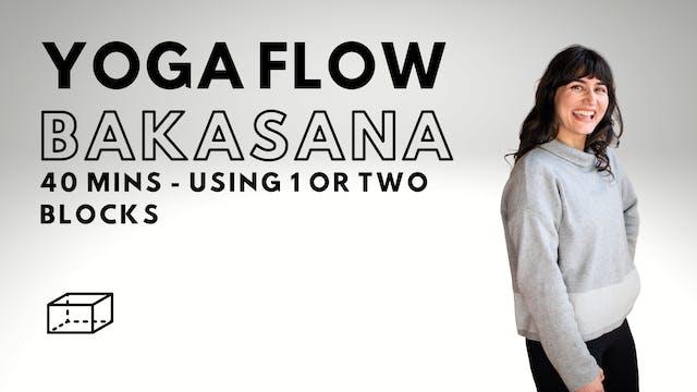 Yoga Flow Bakasana