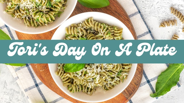 Tori's Day On A Plate