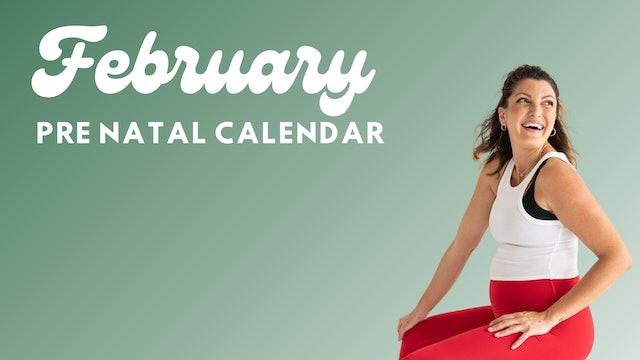 February Pre Natal Guide