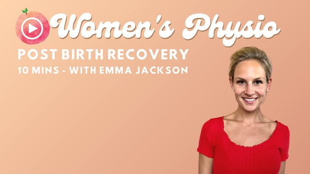 Post Birth Recovery