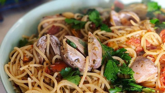 Tori's spaghetti vongole