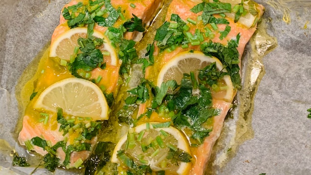 Tori's Easy Trout Pockets