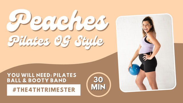 Peaches Pilates OG Style