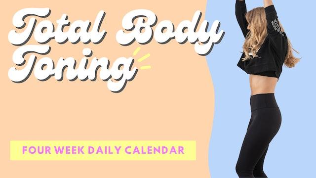 4 WEEK TOTAL BODY TONING
