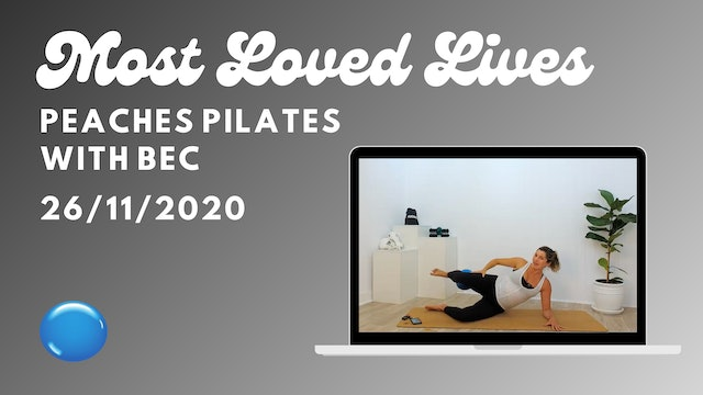 Most Loved Live - Pilates with Bec 26/11