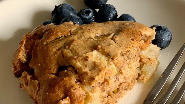 Easy Wholemeal Apple Cake