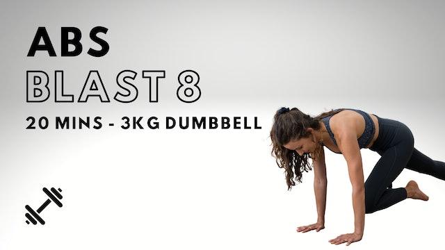 Abs Blast 8 (Dumbbell Optional)
