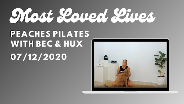Most Loved Live - Pilates with Bec 07/12