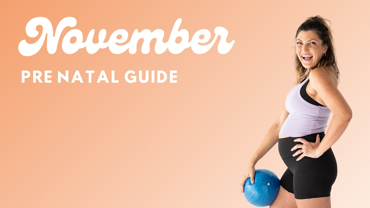 4 Week Prenatal Guide