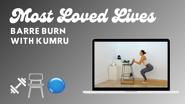 Most Loved Live - Barre With Kumru