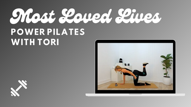 Most Loved Live - Power Pilates With Tori