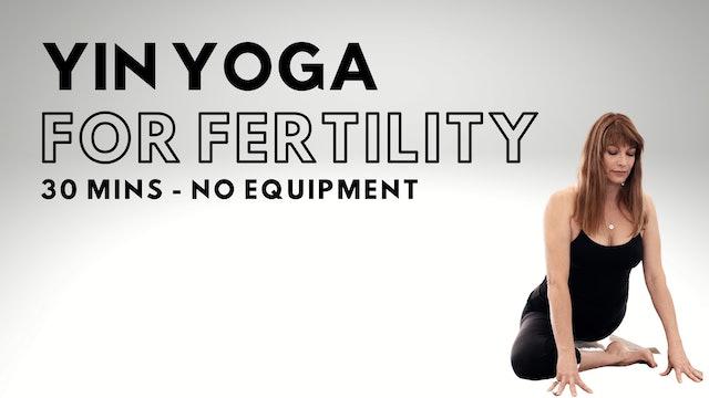 Yin Yoga - Fertility