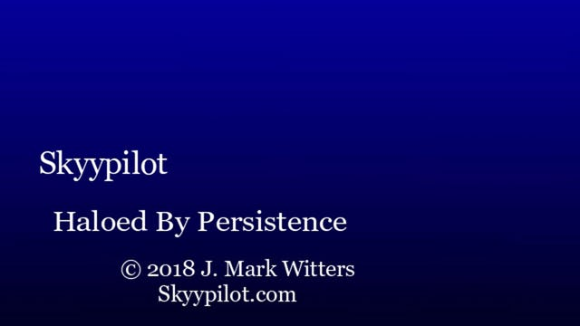 Haloed By Persistence
