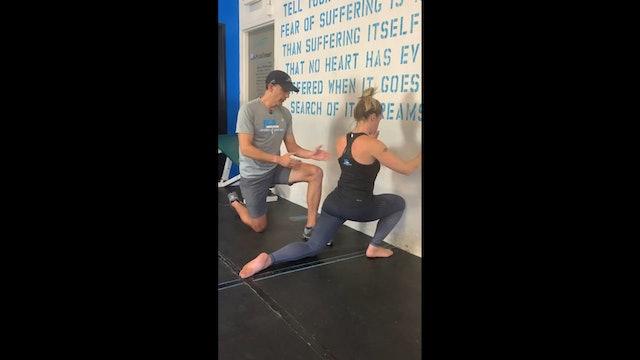 Sagittal Slide (Half Kneeling Ankle Mobility)
