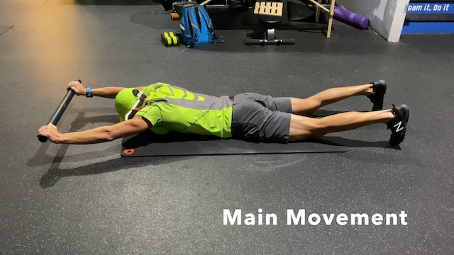 PVC Thoracic Extension with Rotation