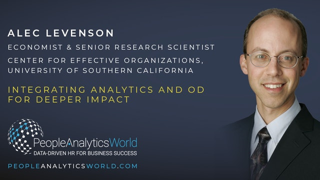 Integrating Analytics and OD for Deeper Impact