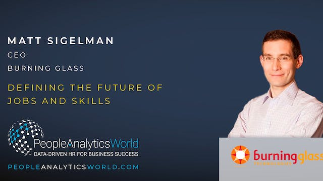 Defining the Future of Jobs and Skills