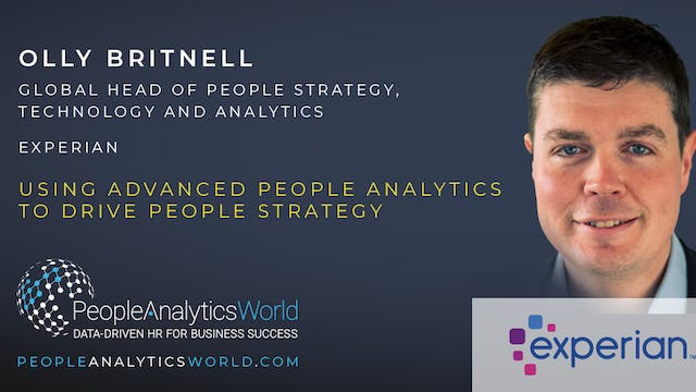Using Advanced People Analytics to Dr...