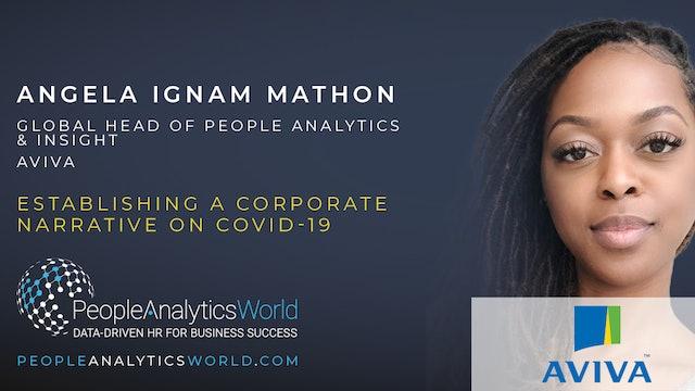 Establishing a Corporate Narrative on COVID-19