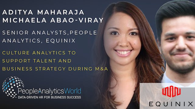 Culture Analytics to support Talent a...