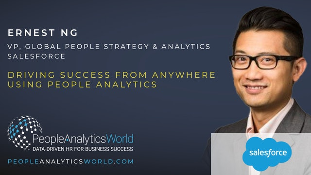 Driving Success From Anywhere Using People Analytics