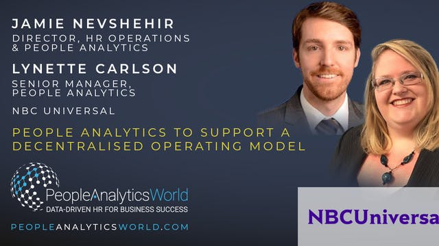 People Analytics to Support a Decentr...