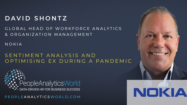 Sentiment Analysis and Optimising EX during a Pandemic