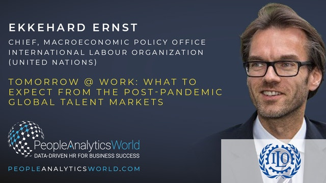 Tomorrow @ Work: What to expect from the post-pandemic Global Talent Market