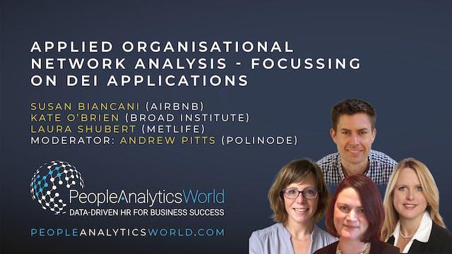 Applied Organisational Network Analys...