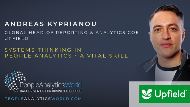 Systems Thinking in People Analytics - a Vital Skill