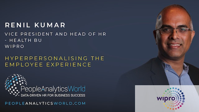 Hyper-personalising the Employee Experience