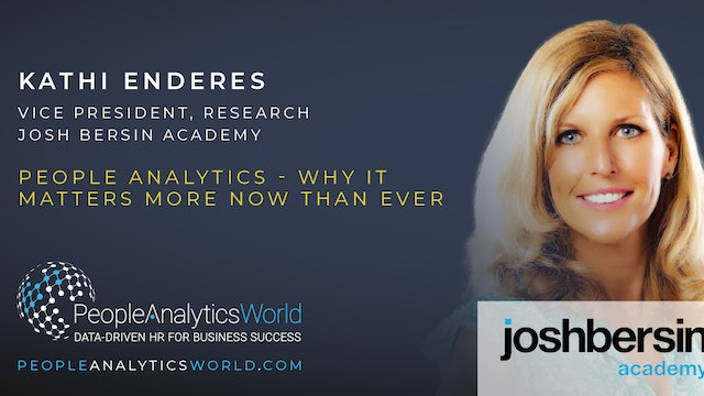 People Analytics - Why It Matters More Now Than Ever
