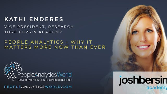 People Analytics - Why It Matters Mor...