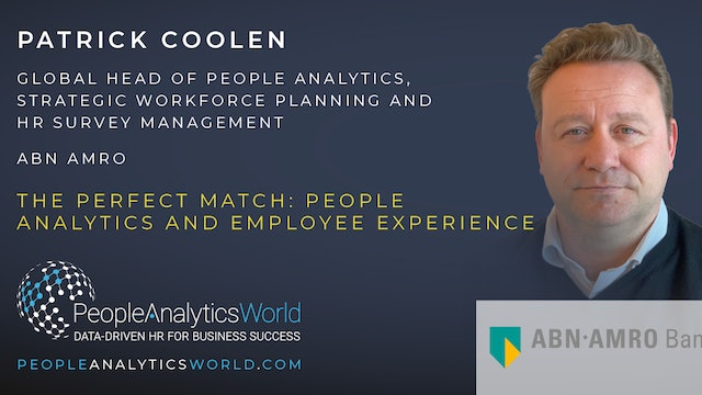 The Perfect Match: People Analytics and Employee Experience