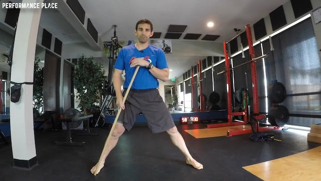 Lateral Squat - Abdominal Injury