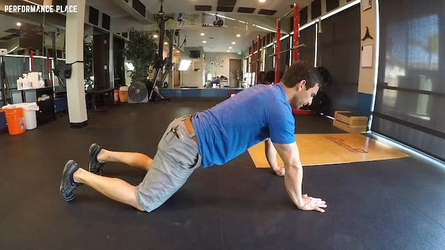 Buttress Plank with Elbow Tap