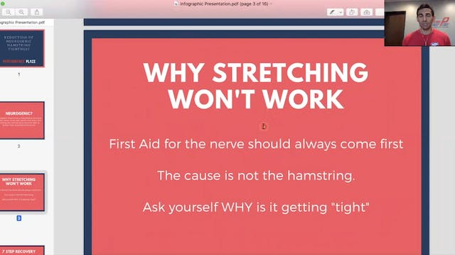 Hamstring Course -  How to Use