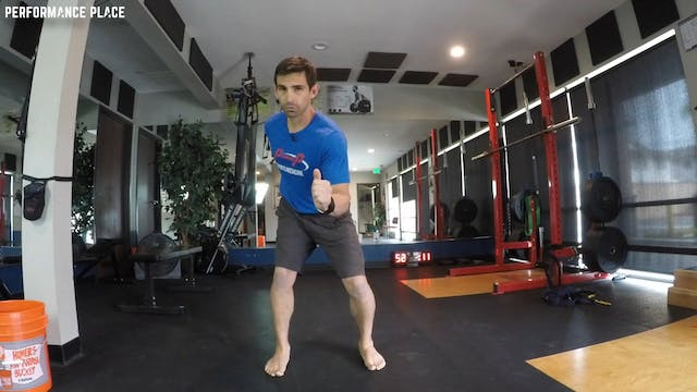 Rotational Squat - Abdominal Injury