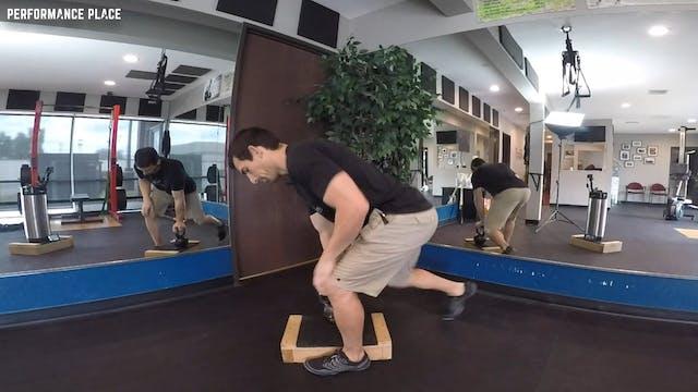 Kickstand Deadlifts (Single Leg Deadlifts)