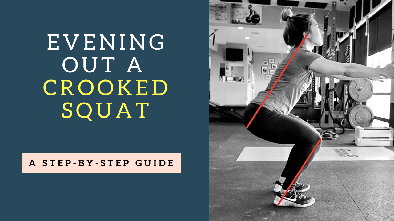 The Super Effective Crooked Squat Correction