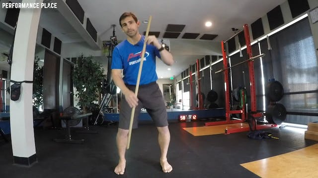 Lateral Squat Pattern