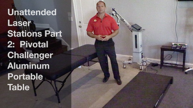 Unattended Laser Stations Part 2 -  Pivotal Challenger Aluminum Portable Table
