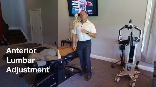 Anterior Lumbar Adjustment