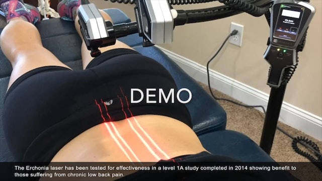 Low Level Laser Therapy Waiting Room Video