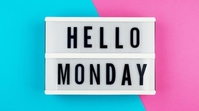 101 ~ Monday Moves!