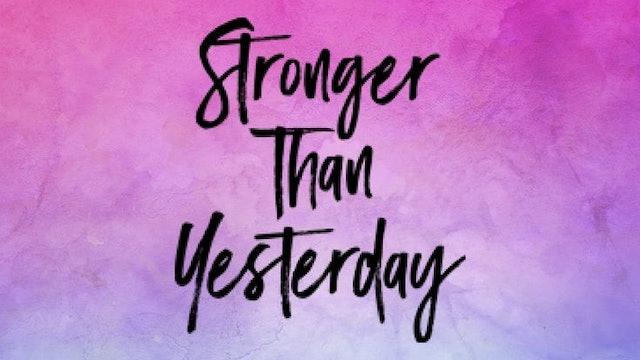 Sculpt ~ Stronger than Yesterday