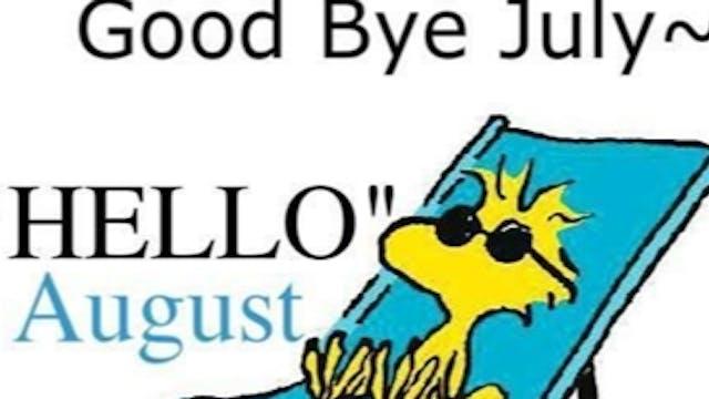 Goodbye July! Cardio Sculpt