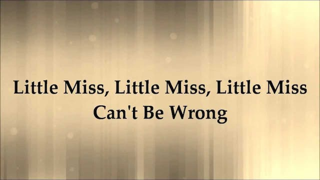BounceLab ~ Little Miss Can't be Wrong!